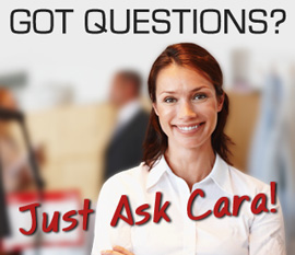 Got questions?  Just ask Cara!